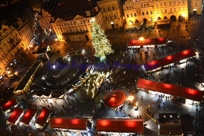 Christmas Market In Old Town Square !!