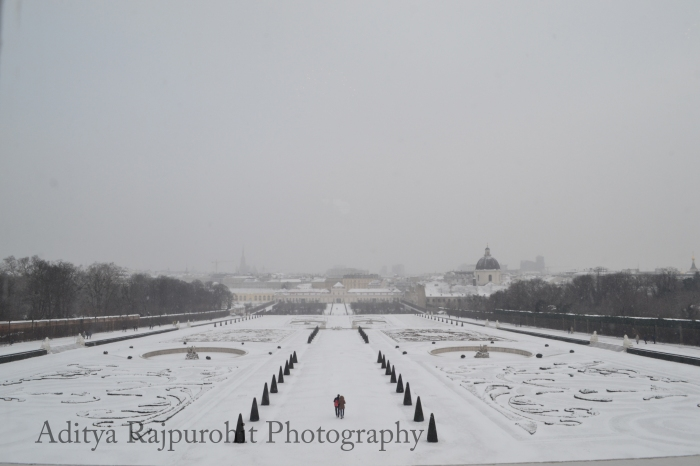Clicked from inside Belvedere